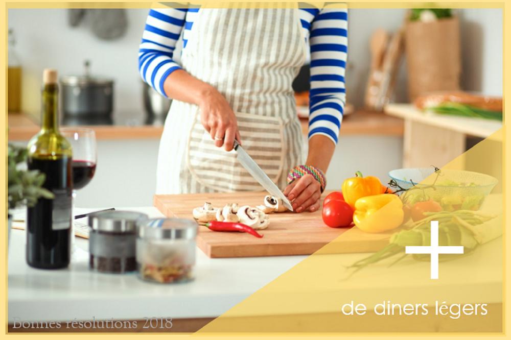 R solution 2018 cuisiner plus l ger au d ner - Cuisiner leger le soir ...